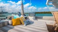 Trilogy Yacht - Top Deck Sunpad